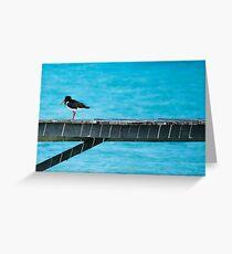 Oyster picka Greeting Card