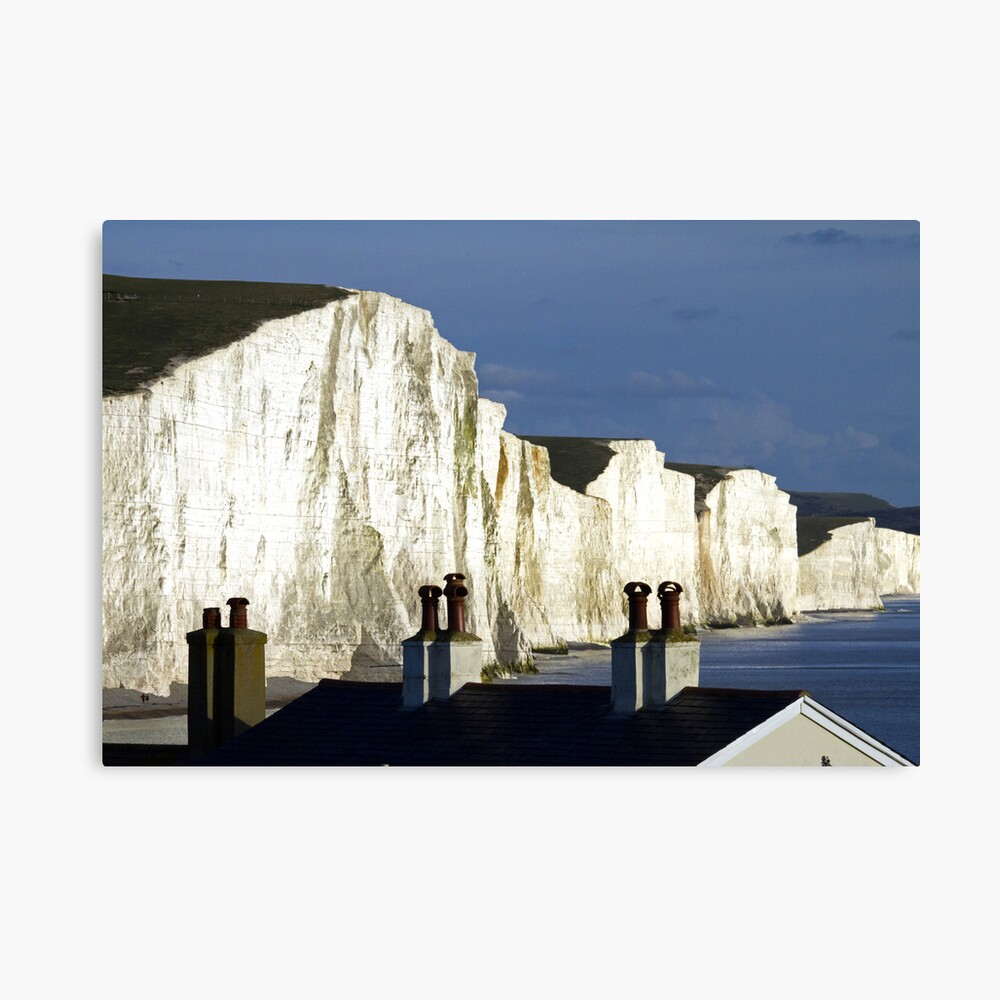 Rooftops & Clifftops Canvas Print