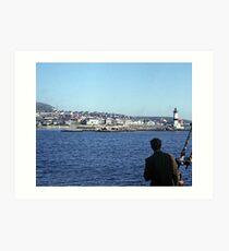 Entering Harbour at St. Pierre and Miquelon Art Print