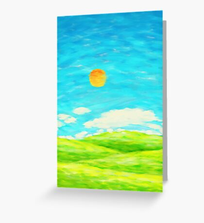 spring and summer Greeting Card