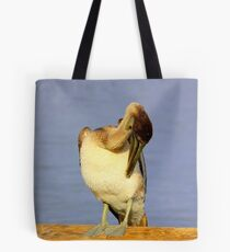 Fluffing Up Tote Bag