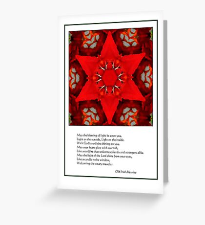 A blessing for you Greeting Card