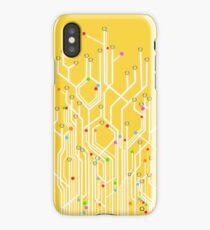 circuit board iPhone Case/Skin