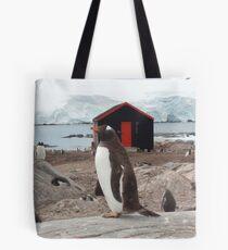 Penguin Post Office Tote Bag