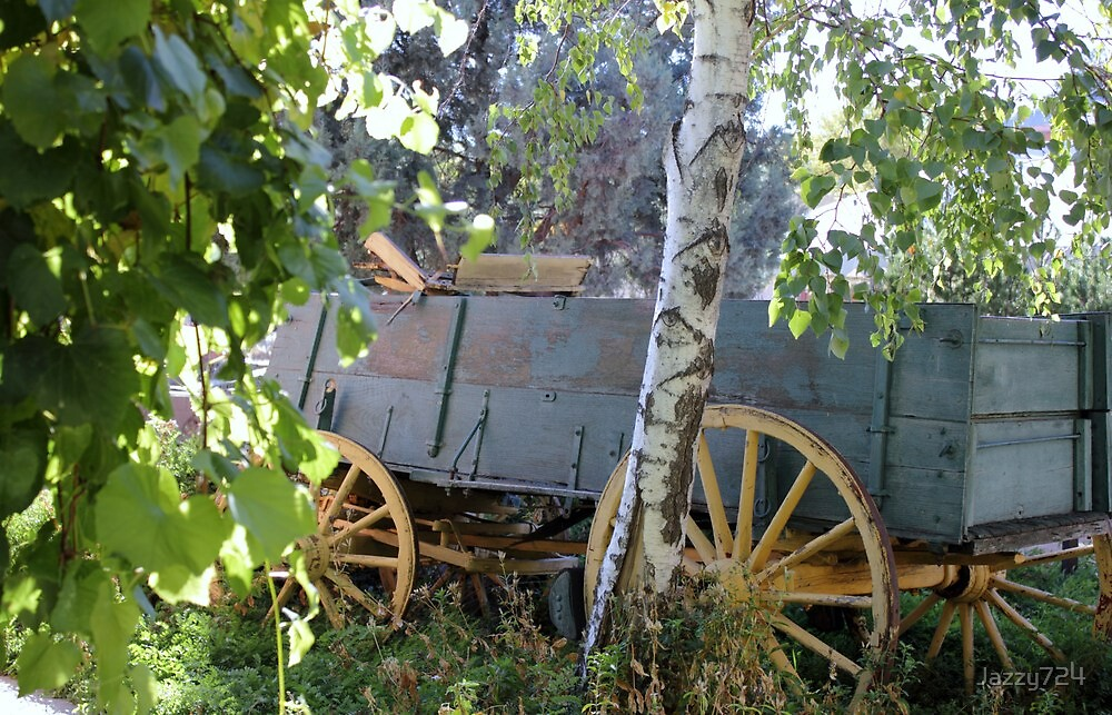 Antique Wagon by Jazzy724