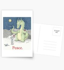 Peace Dragon Postcards