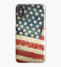 America flag iPhone Case