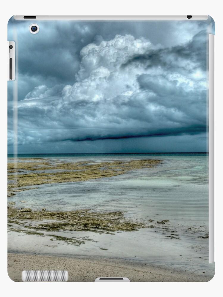 Storm over Nassau, The Bahamas   iPad Case by Jeremy Lavender Photography
