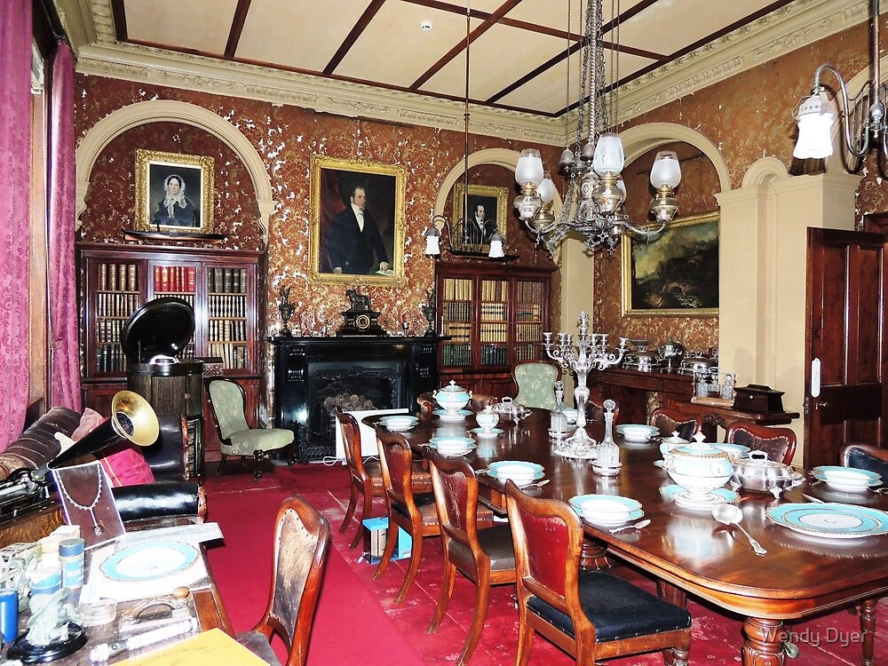 Woolmers Dining Room, Tasmania - A World Heritage Listed Site by Wendy Dyer