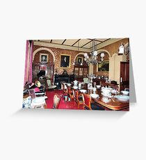 Woolmers Dining Room, Tasmania - A World Heritage Listed Site Greeting Card