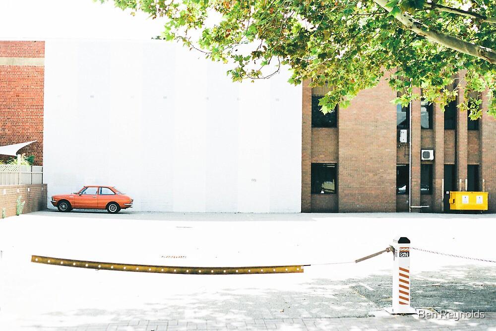 Fremantle Red - Car Series by Ben Reynolds