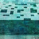 Punch Card Cyan by artkitecture