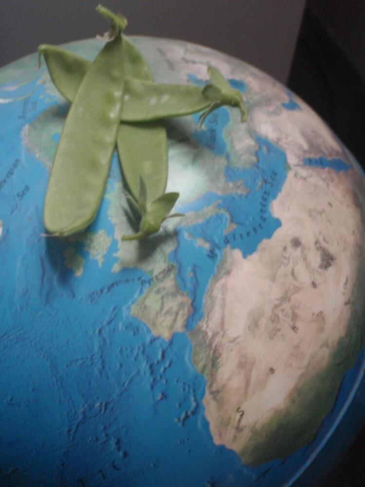 Peas on Earth by ShonaI