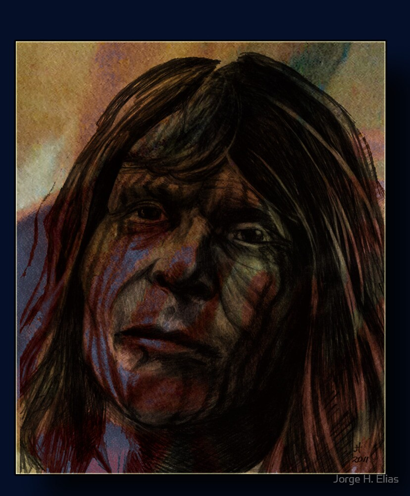 Borrado Indian by Jorge H. Elias