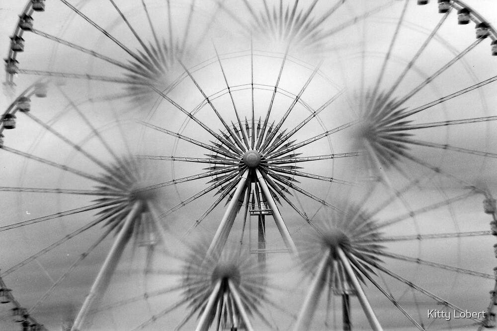 Ferris Wheel, Paris by Kitty Lobert
