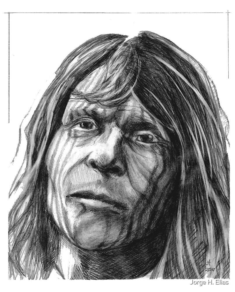 Borrado indian man by Jorge H. Elias