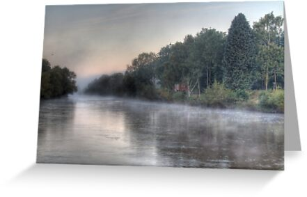 Impressions of Bewdley - Misty Morning by Rob Evans