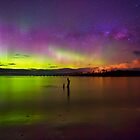 Randalls Bay Aurora Tasmania #6 by Chris Cobern