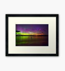 Randalls Bay Aurora Tasmania #6 Framed Print