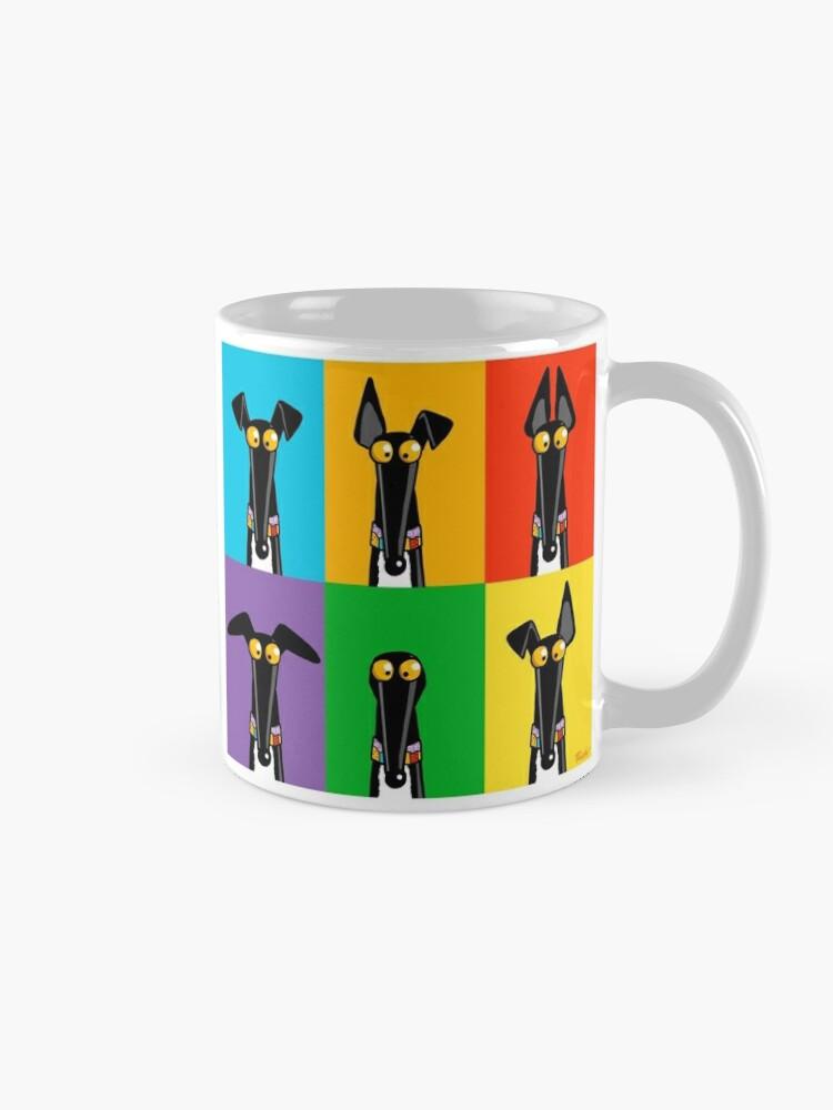 Alternate view of Greyhound Semaphore mug Mug
