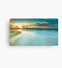 At the End of the Day Canvas Print