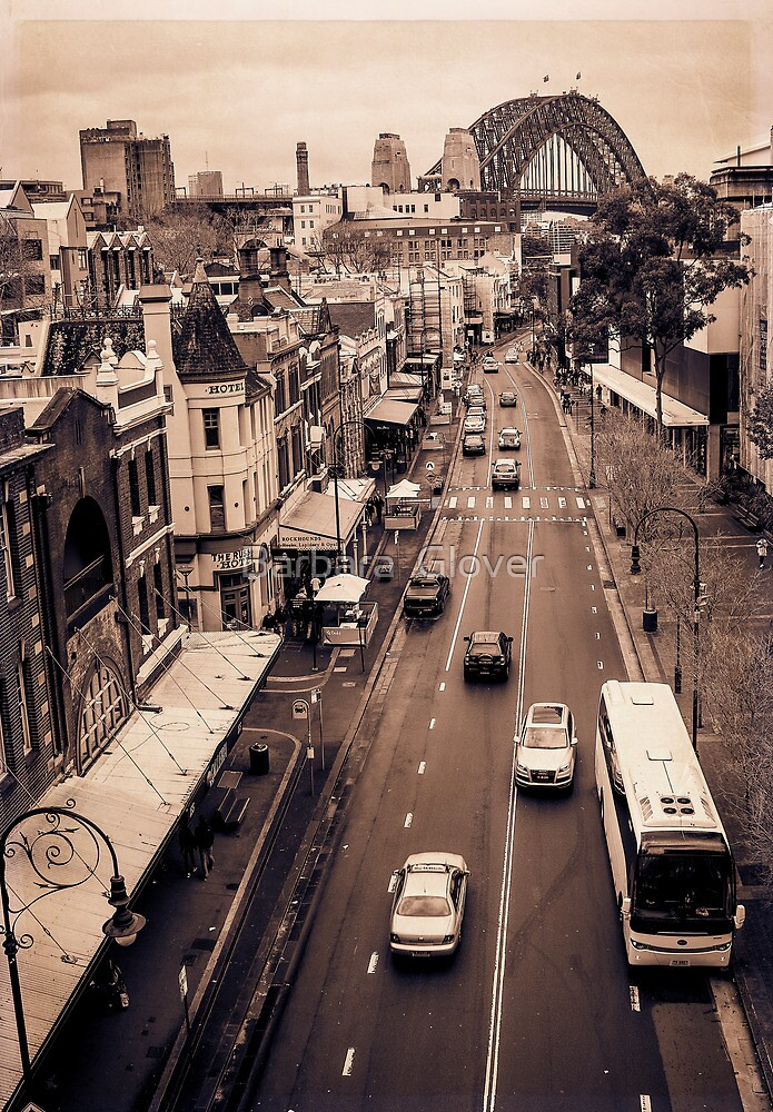 George Street by Barbara  Glover