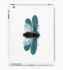Blue Moth iPad Case/Skin