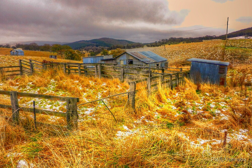 Baby It's Cold Outside - Revisited - Oberon NSW Australia - The HDR Experience by Philip Johnson