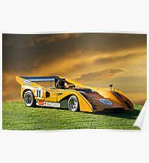 1971 McLaren M8E Can Am Poster