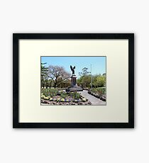 The Cenotaph for the first World War, 1914 - 1918, Angaston, S.A. Framed Print