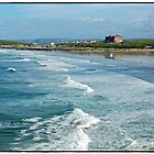 "Newquays Fistral beach"" by Malcolm Chant"