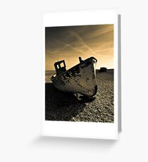 Dungeness  fishing boat  Greeting Card