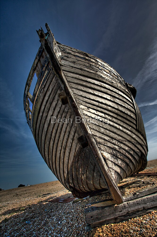 Fishing Boat Dungeness by Dean Bedding