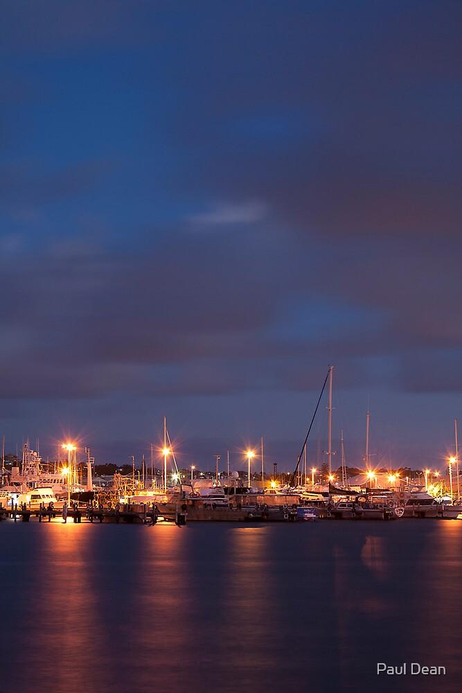 Sunset Harbour 1 by Paul Dean