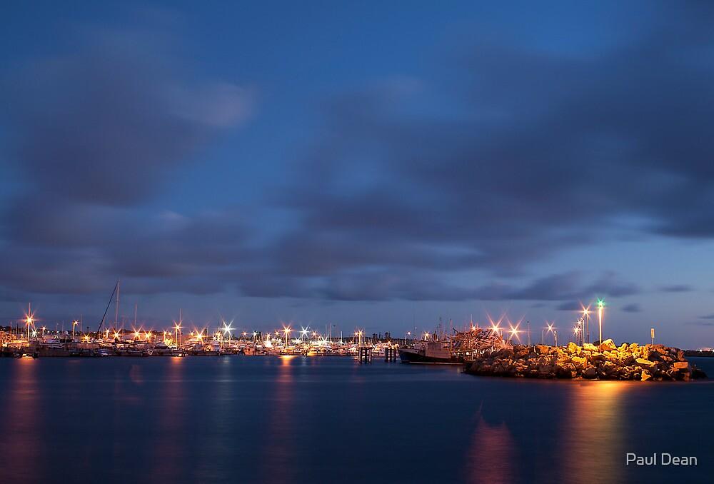 Sunset Harbour 2 by Paul Dean