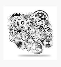 gear wheel Photographic Print