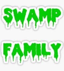 Swamp Family Sticker
