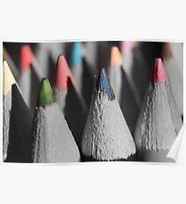 pencils.. Poster