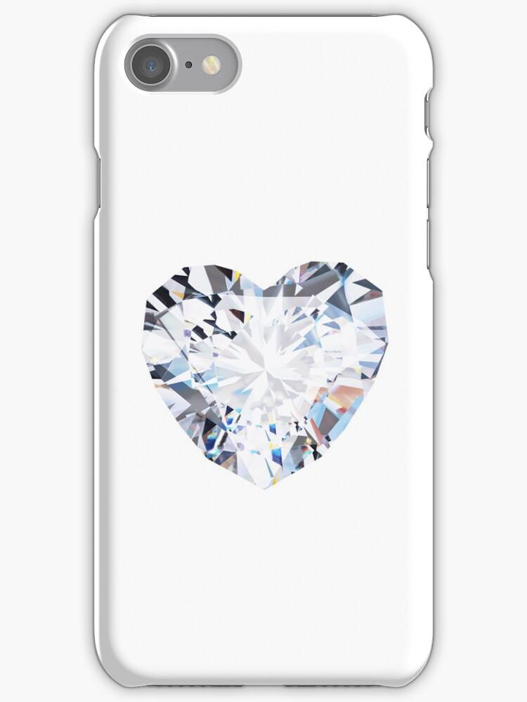 brilliant cut heart diamond ring by naphotos