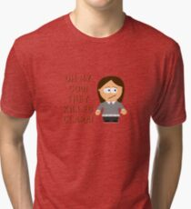 Oh My God! They Killed Clara! Tri-blend T-Shirt