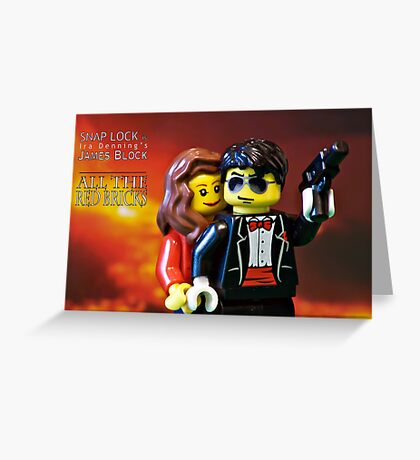 All the Red Bricks Greeting Card