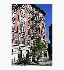 Apartment block, Greenwich Village Photographic Print