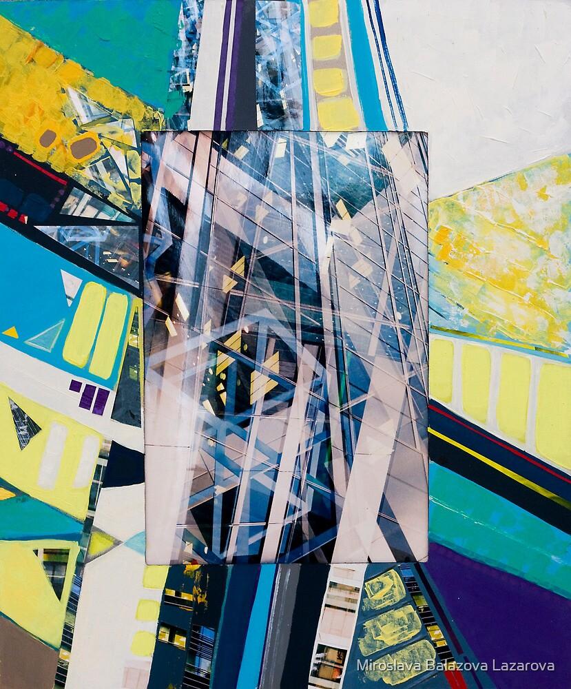 Urban Abstract I.c by Miroslava Balazova Lazarova
