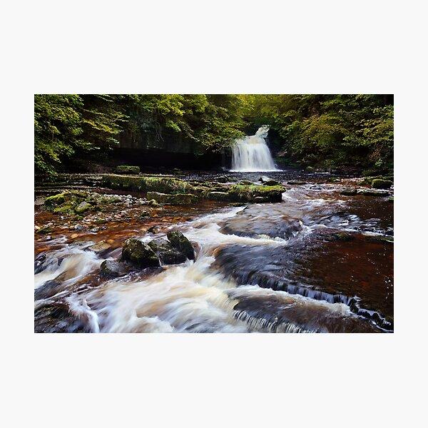 West Burton Falls (Cauldron Falls) - The Yorkshire Dales Photographic Print