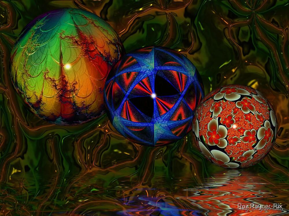 3d Balls by Roz Rayner-Rix