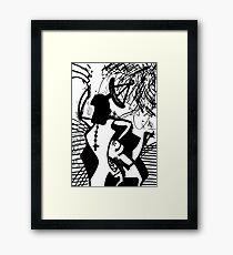 030 Framed Print