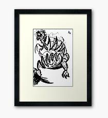033 Framed Print