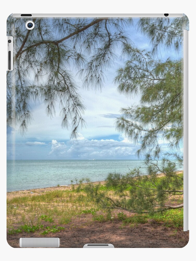 Coral Harbour Beach | iPad Case by Jeremy Lavender Photography