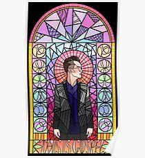 Póster Este es el vidrio de tinción Gospel