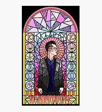 This is Gospel Stain Glass  Photographic Print